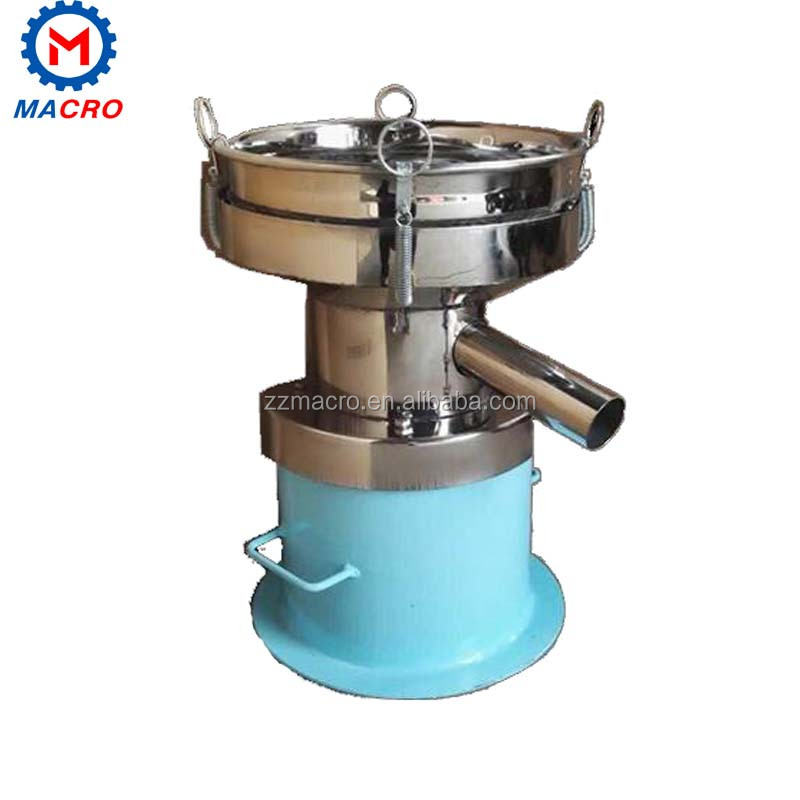 Total Stainless Steel Soybean Milk Sieving Machine Filter Sifter Machine