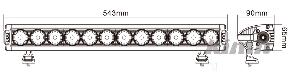 LED Light Bar B34L 120W(4)