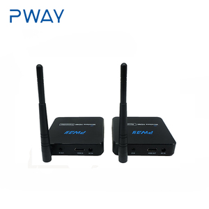 Pway 50M HDMI Wireless Extender up to 100meters air line 1080P Audio Video Transmitter and Receiver with IR