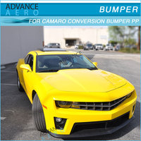 Chevrolet Chevy Camaro ZL1 PP Front Bumper Cover Conversion body kit fog lights Bezels Grills Supports DRL Retainer Absorbers