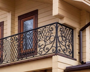 Iron Grill Design For Verandacurved Metal Railings