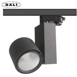 Promotion Shop Lighting High Lumen 100lm/w High CRI Ra>90 COB 30W LED Retail Track Light With PF 0.95