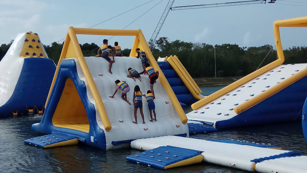 BALI Inflatable Commercial Floating Water Parks Manufacturer / Bouncia Water Park Inflatables