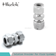 stainless steel instrument tube fitting ss316 10mm x 10mm union