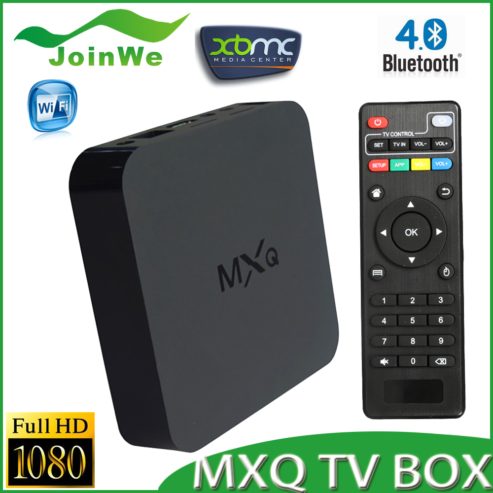 MXQ Android TV Box Amlogic S805 Quad Core XBMC 4.4 DDR3 1G ROM 8G LAN 10M/100M LAN Free Shipping