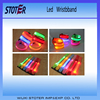 Nice-looking custom led flashing remote controlled led bracelet