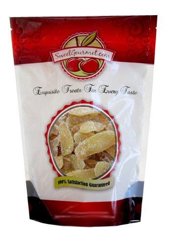SweetGourmet Dried Crystallized Ginger, 16 Oz