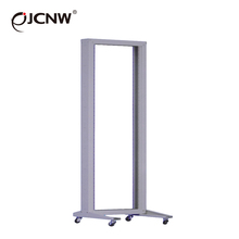 2 post data open rack with movable castor OEM ODM available
