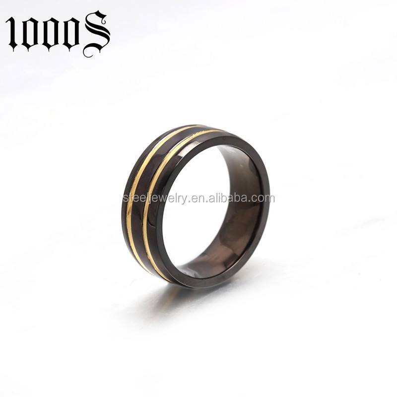 fashion style none stone man tungsten ring for gift