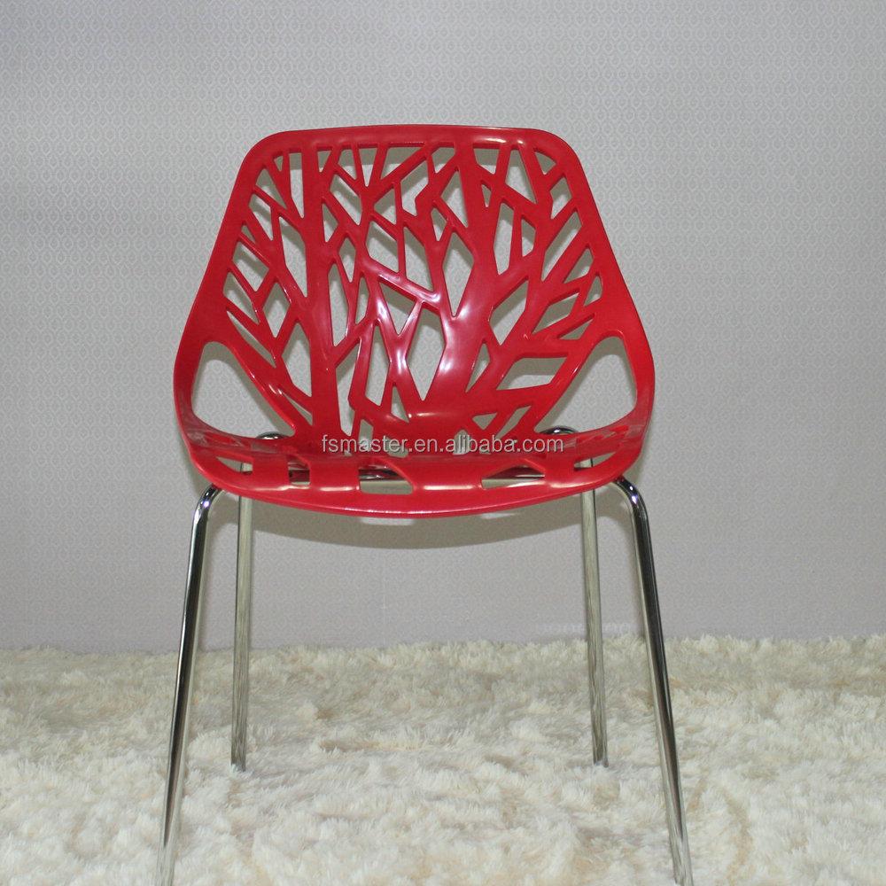 Silla rama venta caliente moderno dise o simple silla de for Sillas comedor plastico