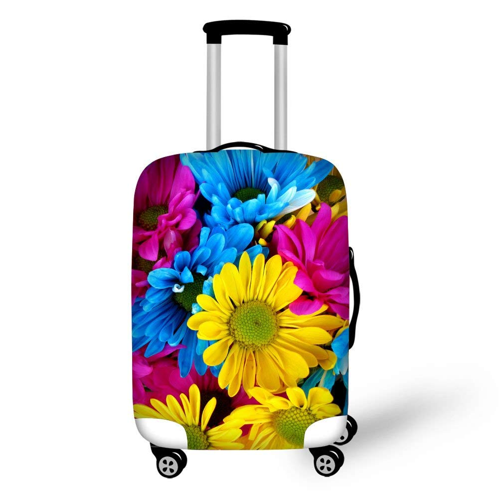 Travel Luggage Cover Fits 18-30 Inch Luggage 3D Colorful Pattern