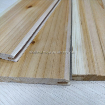 Best Price Timber Wood Wall Interior Wood Cladding With UV Paint Cedar Wood