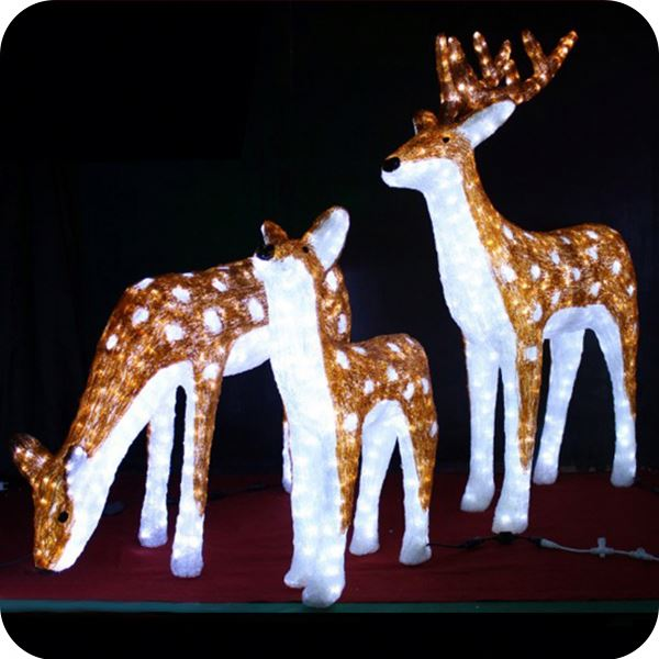 moving christmas reindeer lights outdoor xmas decorations buy moving reindeer decorationreindeer lightsmoving christmas reindeer lights outdoor xmas - Moving Outdoor Christmas Decorations