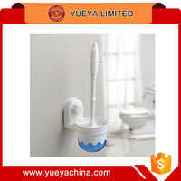 toilet cleaning brush and holder rack cleaning tools set with powerful suction pothook