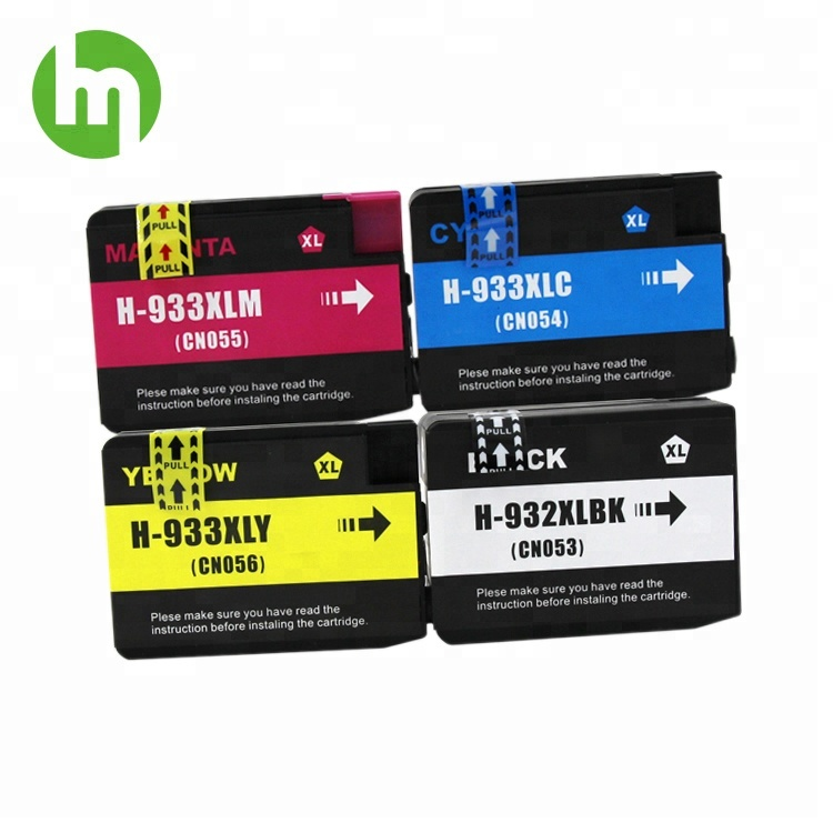 Compatible 932XL 933XL Ink Cartridge for HP Officejet 6100 6600 6700 7110 7610 7510 7512 7612