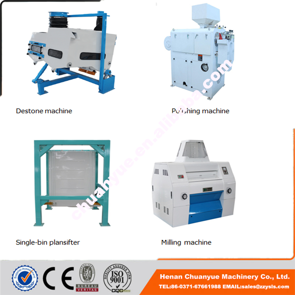 Manpower and energy saving Small Scale corn processing machinery price