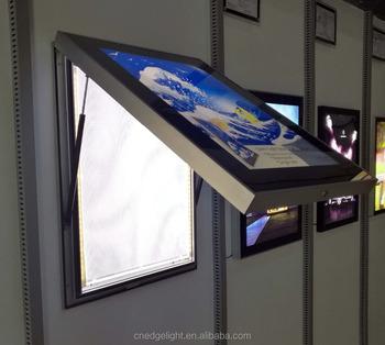 af50a aluminum frame light box advertising led backlit outdoor