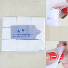 900pcs Nail Art Tips Makeup Manicure Disposable Polish Remover Clean Wipes Cotton Lint Pads Paper Resurrection Towel
