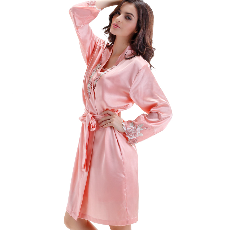 Get Quotations · 2015 Special Offer Rushed Solid Rayon Pijamas Bathrobe  Pajamas For Women Casual Sleepwear Femme Sexy Long 440d1b544
