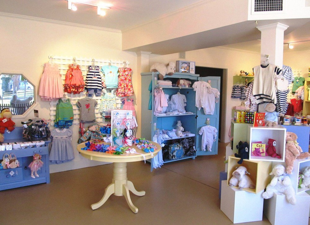 Garment shop interior design baby and kids shops interior design