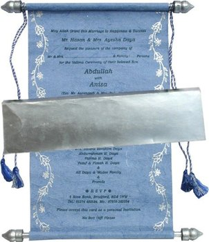 handmade paper scroll invitation buy scroll invitation wedding