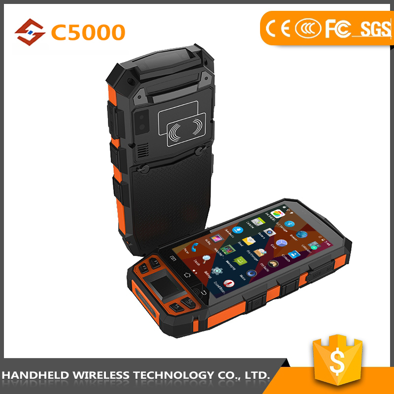Best quality good quality wireless handheld C5000 rugged ip65 portable pda mobile