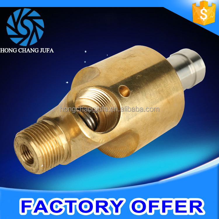 stainless steel tube internal threaded pipe connector rotary joint top union