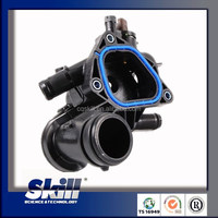 Thermostat housing / vw skoda water flange/plastic thermostat 11537534521 for PEUGEOT