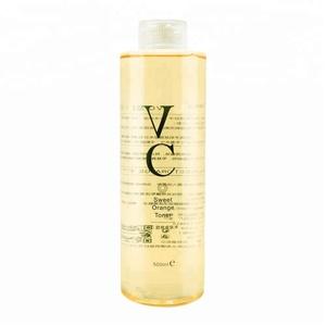 wholesale hydrating whitening toner vitamin c sweet orange whitening lotion body lotion skin toner moisturizer vc toner 500ml
