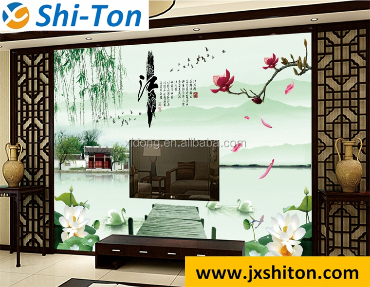 modern digital print 3d picture bathroom stick and go wall tiles