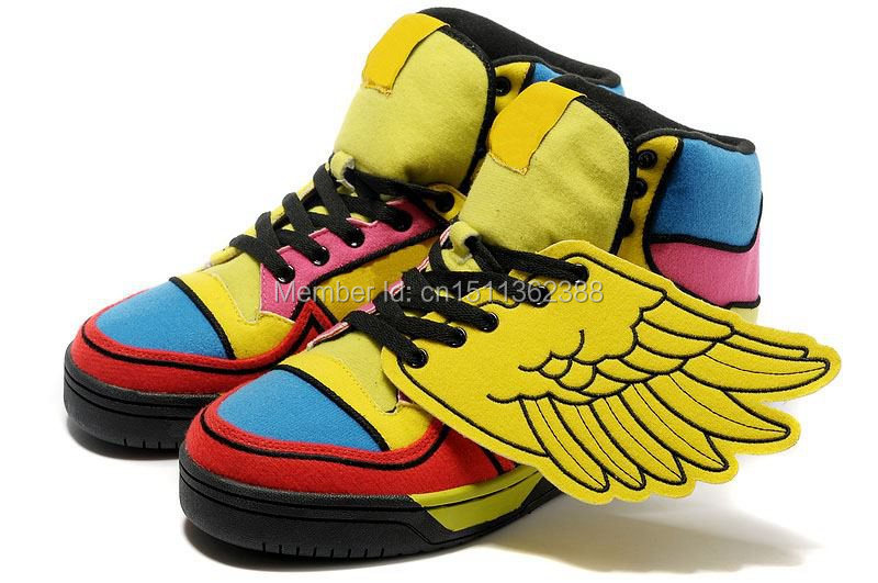 b2811980ed New Arrival Jeremy Scott WIngs Chenille Shoes With Top Quality Jeremy Scott  Shoes JS Wings Towelling