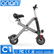 New Top Selling 8 Inch Motor Powered Electric Folding Bike