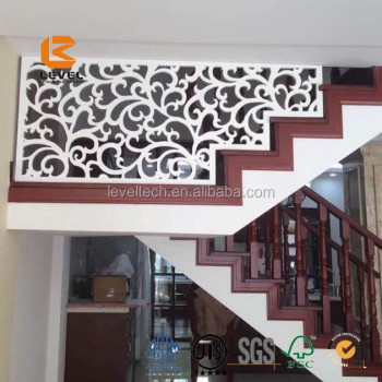 Interior MDF Grille Panels Board Laser Cutting Screen Divider Partition