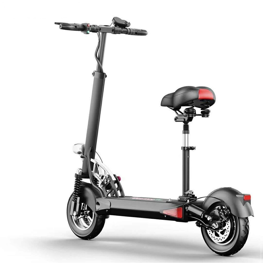 Yume 10inch 2000w fast fat tire scooter dual motor adult electric scooter, Black for mi electric scooter