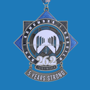 Custom bon run challenge Sphinx sports metal medals