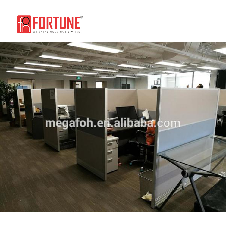 Luxury L Shape Strong Office Cubicles
