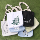 Big Organic Cotton Rope Strap Bag Tote Bag Canvas Shopping Bag
