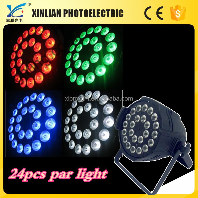 24pcs RGBW LED Par can Light Night Club par can light price