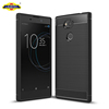 Carbon Fiber Case For Sony Xperia L2 Rugged Silicone Cover Case For Xperia L2