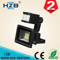 Best Prices Bridgelux IP65 High Power Indoor Outdoor Led Flood Lamp 10watt Motion Sensor/RGB