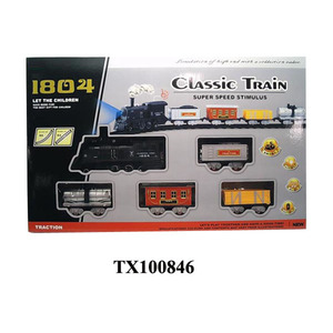 large toy train steam locomotives with smoke, cy promotion