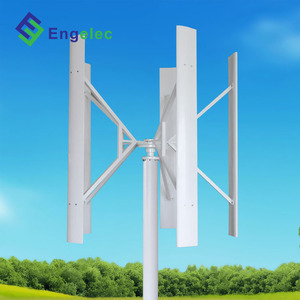 VAWT 5kw vertical axis windmill 12m/s rated speed, 2m/s start 120/220v