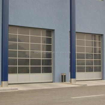 Overhead High Speed Aluminum Industrial Glass Garage Door Buy