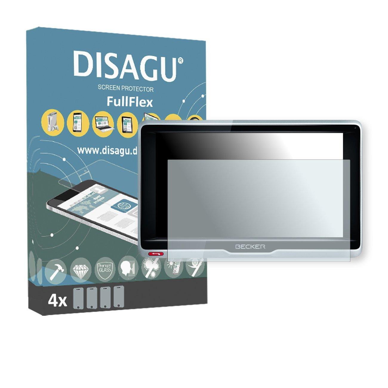 4 x Disagu FullFlex screen protector for Becker transit.6 LMU foil screen protector