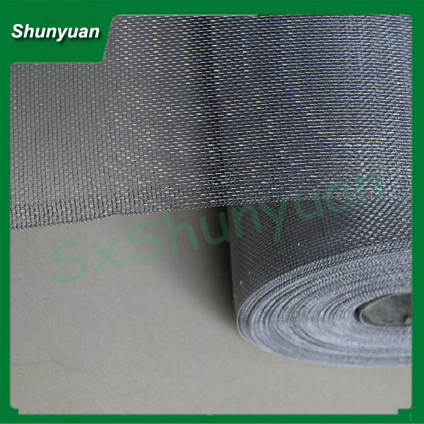 Electro galvanized steel wire Window Screen / hot-dipped galvanized window screen / galvanized screen mesh