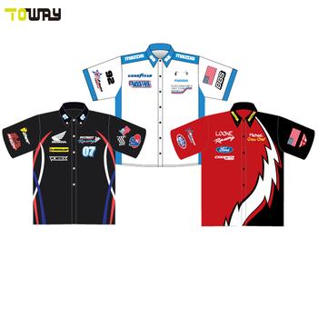2214bb300 sublimation racing team polo shirt