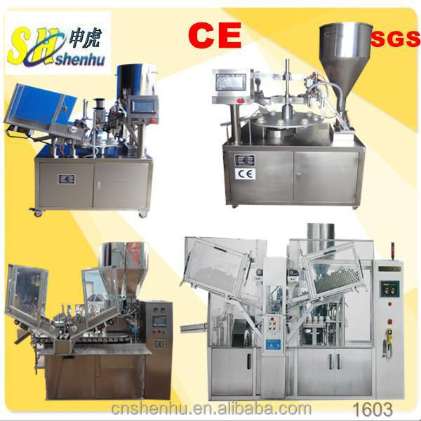 shenhu plastic tube filler sealer machine