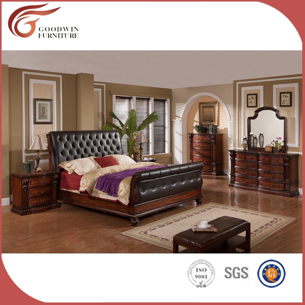 Lujo Colonial Espa Ol Estilo Renacimiento Cama Retro Dormitorio De  # Muebles Camas King Size