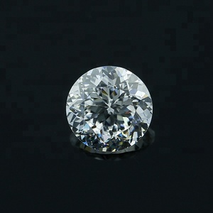 crystal white CZ stone/5mm small round cubic zirconia