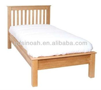 Billige Holzbett Frames Massiver Eiche Bett Holz Bettgestell Design